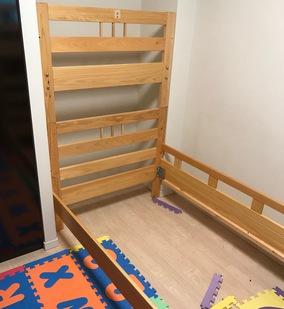 2段ベッドの解体&組立①