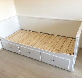 IKEA伸縮式ベッド 引出付き①