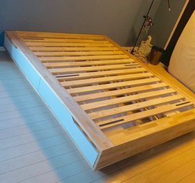 IKEAベッド(引っ越し後の再組立)
